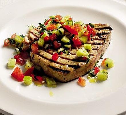 Fresh tuna steaks recipes