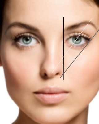 eyebrow design to suit most faces