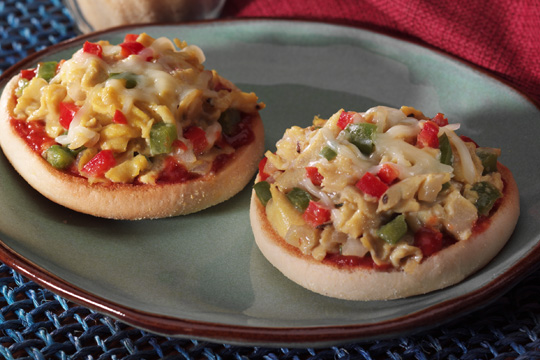 low calorie mini pizzas