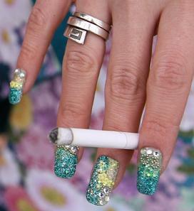 wacky nail Art 2