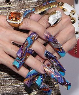 wacky nail Art 5