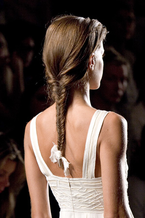 braided hairstyle that's right for long hair