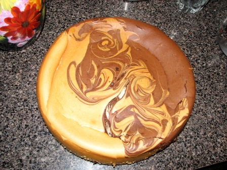 About Women Lifestyle»Blog Archive Orange Chocolate Swirl Cheesecake ...