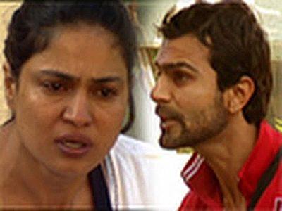 Veena Malik, Ashmit Patel and the stilettos in Bigg Boss 4