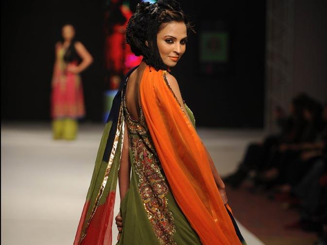 A creation by Pakistani designer Kamiar Rokni 2