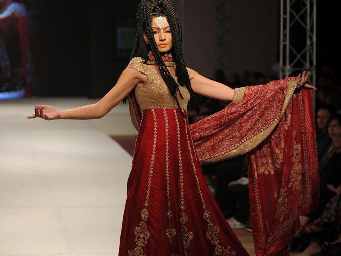 A creation by Pakistani designer Kamiar Rokni