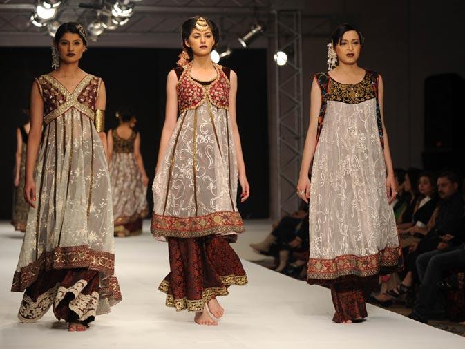 Creations by Pakistani designer Shaiyanne Malik 2