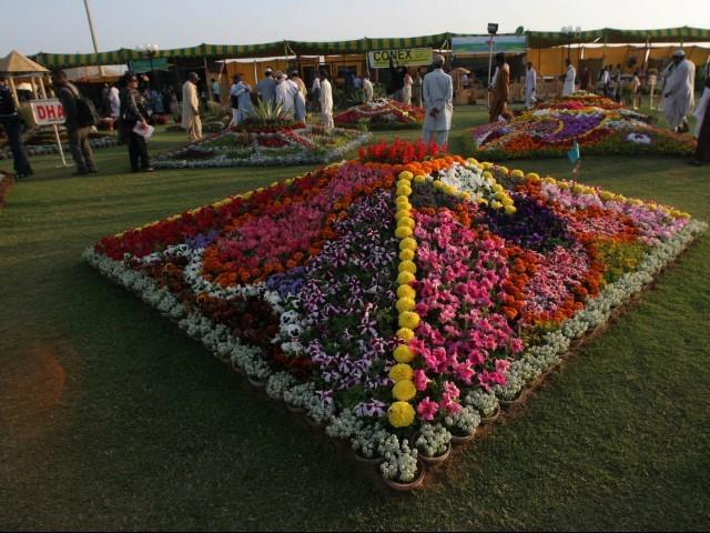 60th annual flower Show karachi