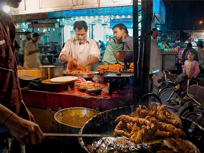 Fish Fry at Burns Road karachi