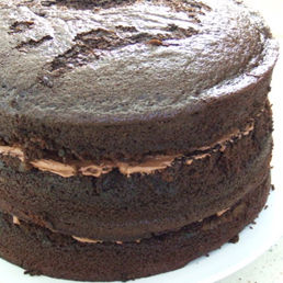 Three Layer Chocolate Cake Recipe