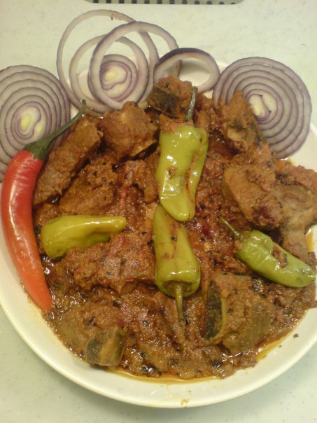 Achar Ghost - Recipe of the day 18th April 2012