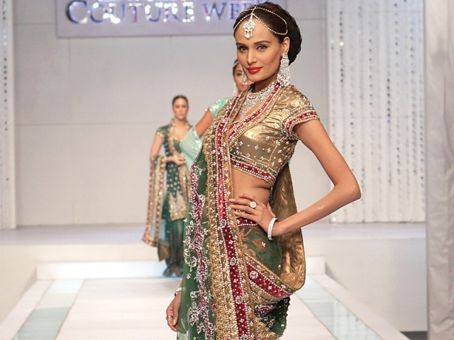 Rehana Saigol at Bridal couture week 2011