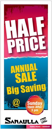 Sanaulla Big Store Sale