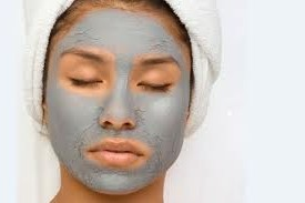 Glowing skin mask