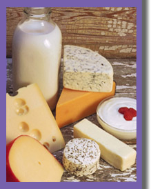 Dairy Products Match Your Age