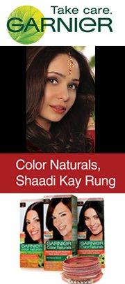 Garnier Color Naturals- Shaadi kay Rung Mall Animation Events
