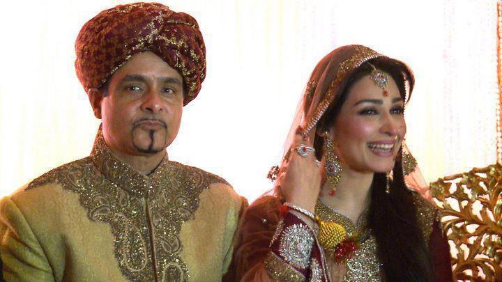 Pakistani Actress Reema Wedding Pic