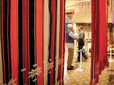Sand and silk Mohatta Palace brings ravishing African textiles to town