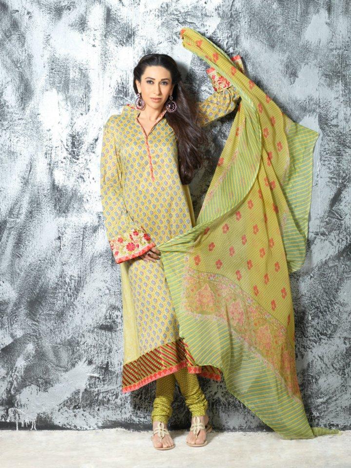 Karishma kapoor Models for Crescent lawn 2012 (2)