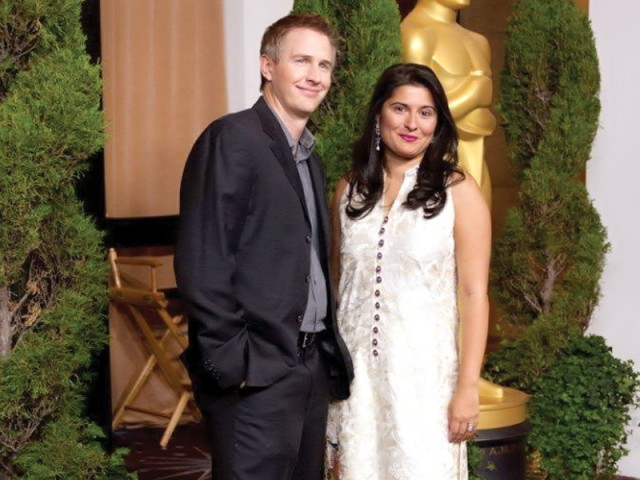 Sharmeen Chinoy in Sania Maskatiya at Oscars Luncheon