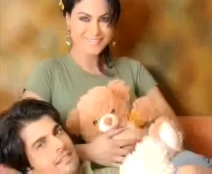 Veena Malik and babrak Shah