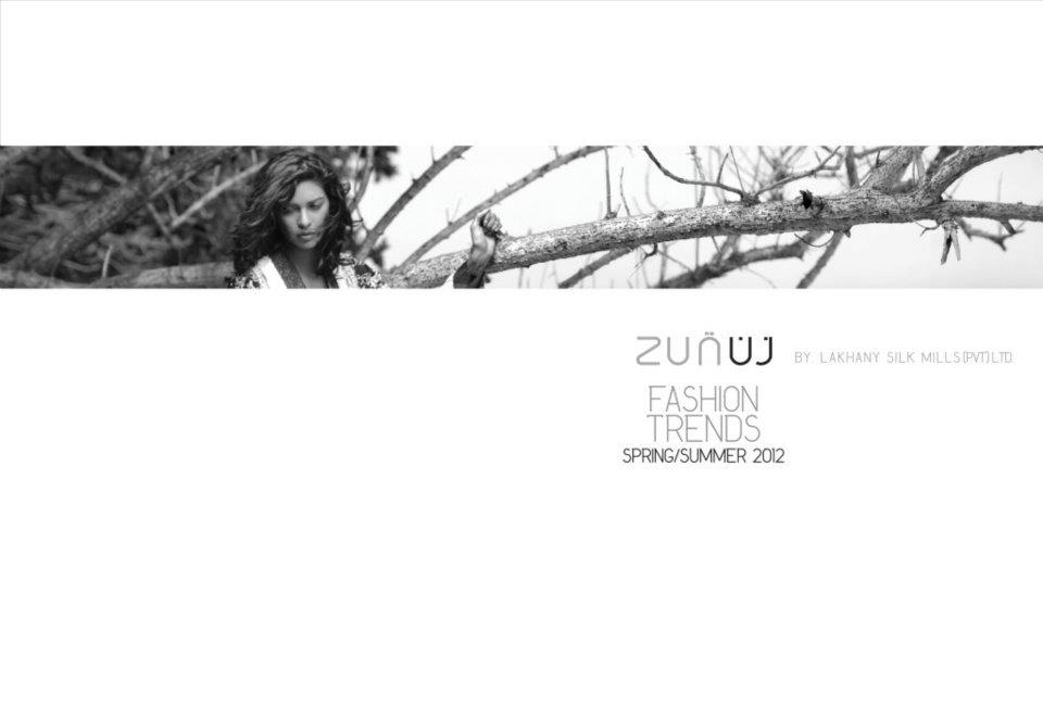Zunn lawn by Lakhani Silk mills 2012