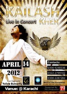 Kailash Kher Live in Concert [14th April]