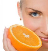Oranges for skin care