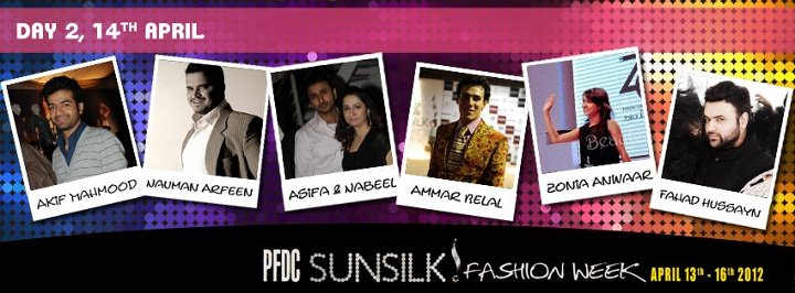 PFDC Sunsilk fashion Week 2012 Lahore Day 2