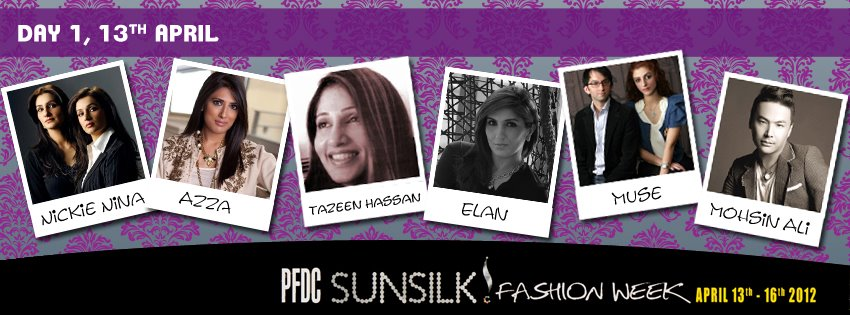 PFDC Sunsilk fashion Week Day 1 designers