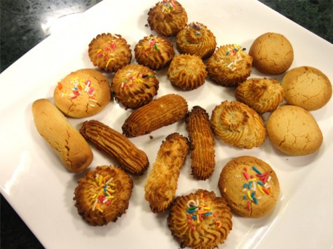Marzipan cookies recipe