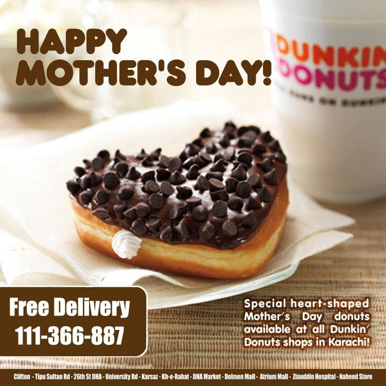 mothers day dunkin donuts deal