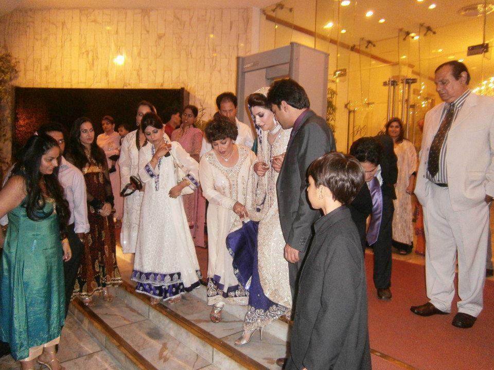 Azfar Ali Naveen waqar wedding picture rukhsati